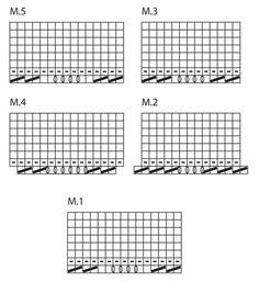 """Moonlight Serenade - DROPS jakke i """"Verdi"""" med ¾-lange ærmer, bølgemønster og rundt bærestykke. Str S - XXXL - Free pattern by DROPS Design Drops Design, Print Patterns, Knit Patterns"""
