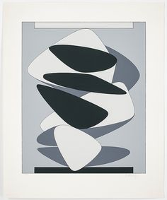 Vasarely, Victor  (1908-1997), litograph, 1985, 79x65cm 11+1 map
