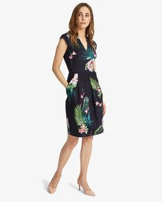 Buy Phase Eight Porcelain Print Dress, Multi from our Women's Dresses Offers range at John Lewis & Partners. Sheath Dress, Dress Skirt, Dress Up, Bodycon Dress, Dresses For Work, Summer Dresses, Formal Dresses, Elegant Dresses, Wedding Dresses