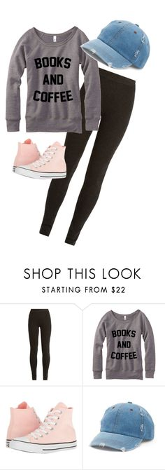 """""""Coffee shop"""" by jjjunebug2 ❤ liked on Polyvore featuring Ryan Roche, Converse and Mudd"""