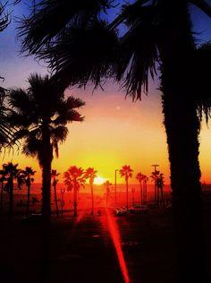 Classic California Sunset