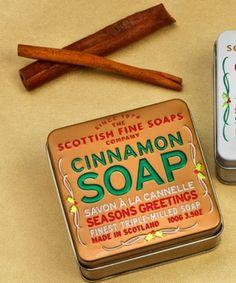 Cinnamon Soap Tin in Winter 2013 from BBC America Shop on shop.CatalogSpree.com, my personal digital mall.