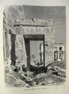 Iside temple in the island of Philae Ancient Civilizations, Ancient Egypt, Old Pictures, Archaeology, Egyptian, Temple, History, Architecture, Classic
