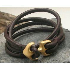 #leatherbracelets #gift #handmade #design #fathersday www.bonanza.com/booths/Atelye
