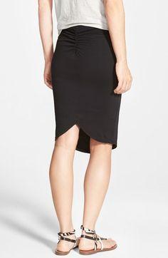 James Perse Tulip Back Skirt | Nordstrom