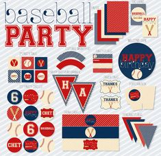 We Have Rounded Up The Best Free and Paid Baseball Party Printables On The Net To Make Your Baseball Party A Home Run! Tons Of Ideas And Inspiration Here!