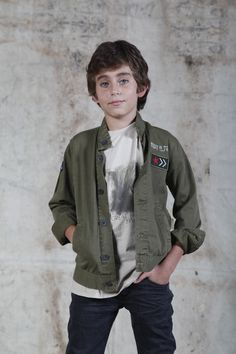 KIDS www.tennis.com.co Jeans, Military Jacket, Bomber Jacket, Jackets, Fashion, Going Out Clothes, Clothes Shops, Woman Clothing, Shirts