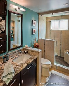 Tricks of the Trade: Photographing Small Bathrooms