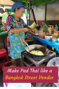 I tried to recreate the mind blowingly delicious $1 Pad Thai I had from a Bangkok street vendor. Best Pad Thai Recipe, Authentic Bangkok Street Vendor Style