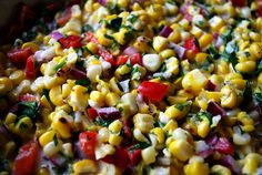 Roasted Corn Salad - your homebased mom