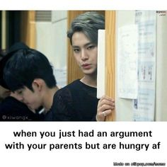 relatable | allkpop Meme Center SEVENTEEN Mingyu ad S.Coups in the back.