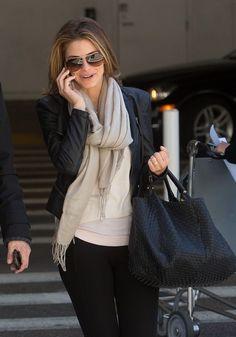 Maria Menounos - Maria Menounos Arrives in LA With Her Boyfriend