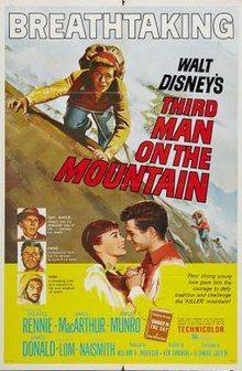 Third Man on the Mountain 1959 Poster Every Disney Movie, Classic Disney Movies, Disney Movie Posters, Disney Films, Disney S, Disney Live, Movie To Watch List, Movie List, Movie Tv