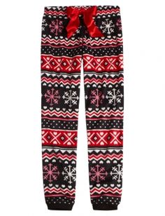Fairisle Fleece Pajama Pant (justice)