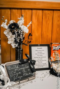 Silver Linings: A Black & White Wedding Day