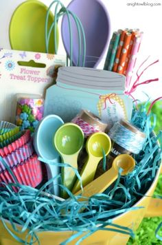 Spa easter basket with softsoap fresh and glow perfect easter easter basket ideas with world market negle Image collections