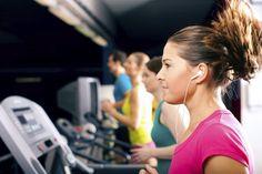 45 minute treadmill run