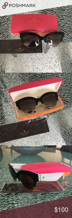 Kate spade sunglasses NEW kate spade susglasses cat eyes. comes with everything you see in the picture kate spade Accessories Sunglasses