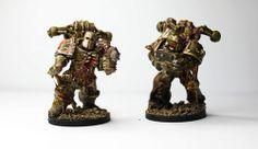 my figures - nurgle marines