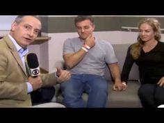 Luciano Huck e Angélica falam sobre o acidente aéreo - Jornal Nacional