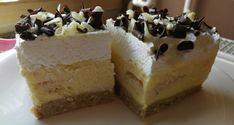 Gesztenyés süti sütés nélkül - Süss Velem Receptek Fudge, Cheesecake, Food, Garlic Pasta, Recipes, Cheesecakes, Essen, Meals, Eten