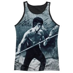 """Checkout our #LicensedGear products FREE SHIPPING + 10% OFF Coupon Code """"Official"""" Bruce Lee/whoooaa-adult Poly Tank Top T- Shirt - Bruce Lee/whoooaa-adult Poly Tank Top T- Shirt - Price: $24.99. Buy now at https://officiallylicensedgear.com/bruce-lee-whoooaa-adult-poly-tank-top-shirt-licensed"""