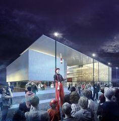 CGarchitect - Professional 3D Architectural Visualization User Community | Les Quinconces Cultural Center, Le Mans, France