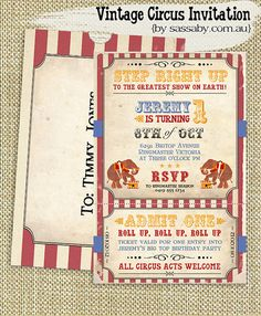 Hey, I found this really awesome Etsy listing at http://www.etsy.com/listing/76311831/vintage-circus-invitation-kids-birthday