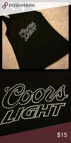 00827bac42736 🆑6  24! Coors Light tube top