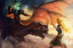 Eowyn and the nazgul 2 by moonxels.deviantart.com