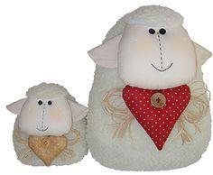 HotSite Patatu/Projetos Doll Toys, Dolls, Cute Lamb, Baby Deco, Sheep And Lamb, Sock Animals, Toy Craft, Felt Fabric, Baby Crafts