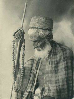 A Portrait of an elderly Somali man, 1936.   #Islam #Sufism #Spirituality #Mysticism #God #Religion #Allah #Africa