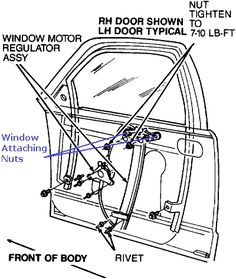 basic car parts diagram 1989 chevy pickup 350 engine exploded how to fix a car window that falls down into the door