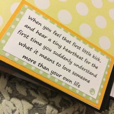Bespoke Memories Cute little saying - From a Bespoke Memories Baby Book