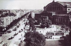 Berlin, Anhalter Bahnhof mit Askanischem Platz um 1910.