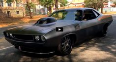 Awesome Muscle Cars by Muscle Cars HQ. Under the custom shaker hood this 1971 Cuda hides a monstrous 605 HEMI engine. Check this Awesome Muscle Car. Modern Muscle Cars, Best Muscle Cars, American Muscle Cars, 1967 Camaro, Drag Cars, Dodge Challenger, Mopar, Luxury Cars, Classic