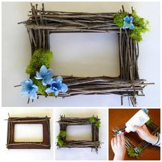 Classy DIY Bedroom Decor Projects to Adorn Your Home in Budget Diy Bedroom Decor, Diy Home Decor, Bedroom Wall, Mobiles, Homemade Frames, Diys, Mothers Day Crafts For Kids, Christmas Gifts For Boyfriend, Mother's Day Diy
