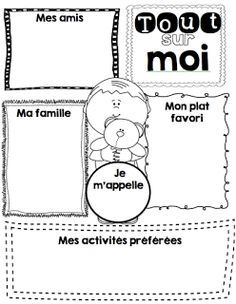 Le cahier de Pénélope: Mes ateliers d'écriture School Plan, 1st Day Of School, Beginning Of The School Year, High School, First Day Activities, French Worksheets, Primary Science, Core French, French Classroom