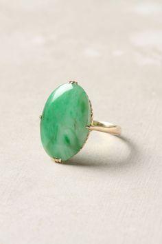 victorian jade ring