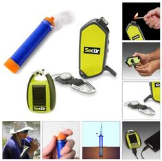 Camping hiking fishing biking hunting gear survival equipment kit