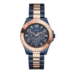 Guess W0231L6 BFF dames horloge! Super leuk bij een jeans!