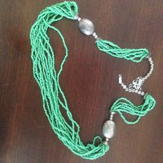 I just listed Beaded necklace ($7) on Mercari! Come check it out! http://item.mercariapp.com/gl/m218220399