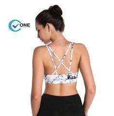 115009720afe6 Dragon Fit Womens Fitness Bras Push Up Sports Bra Top Gym Running Padded Yoga  Bras Female Athletic Vest Sportswear Bras(China)