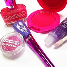 #color #neon #flashmob #maquillaje