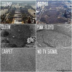 No TV signal is the best president