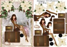 Fashionista Coming Home for Christmas on Craftsuprint - View Now!