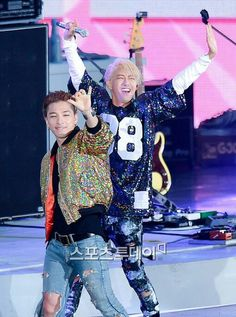 Taeyang and Kwanghee