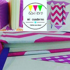 Cuaderno geométrico multicolor