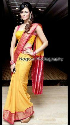 Silk saree Indian Attire, Indian Wear, Indian Outfits, Beautiful Saree, Beautiful Indian Actress, Indian Bollywood, Bollywood Fashion, Ethnic Fashion, Indian Fashion
