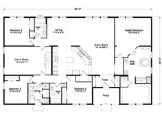 Me and my husband both love this floor plan!